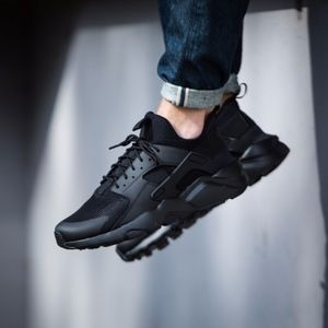 Nike Air Huarache Ultra Run Triple Black